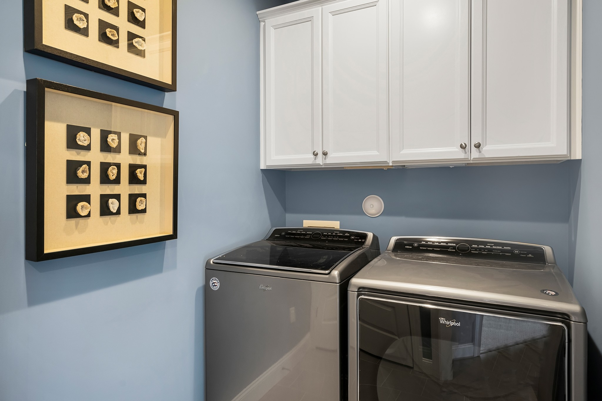 Ballentine Place, The Edenton Model, Royal Oaks a Division of Mattamy Homes, Laundry Room with St...