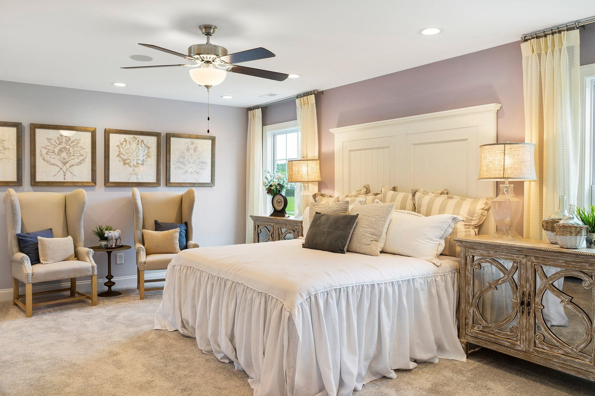 Royal Oaks a Division of Mattamy Homes, Oak Park, The Edenton, Spacious Master Suite