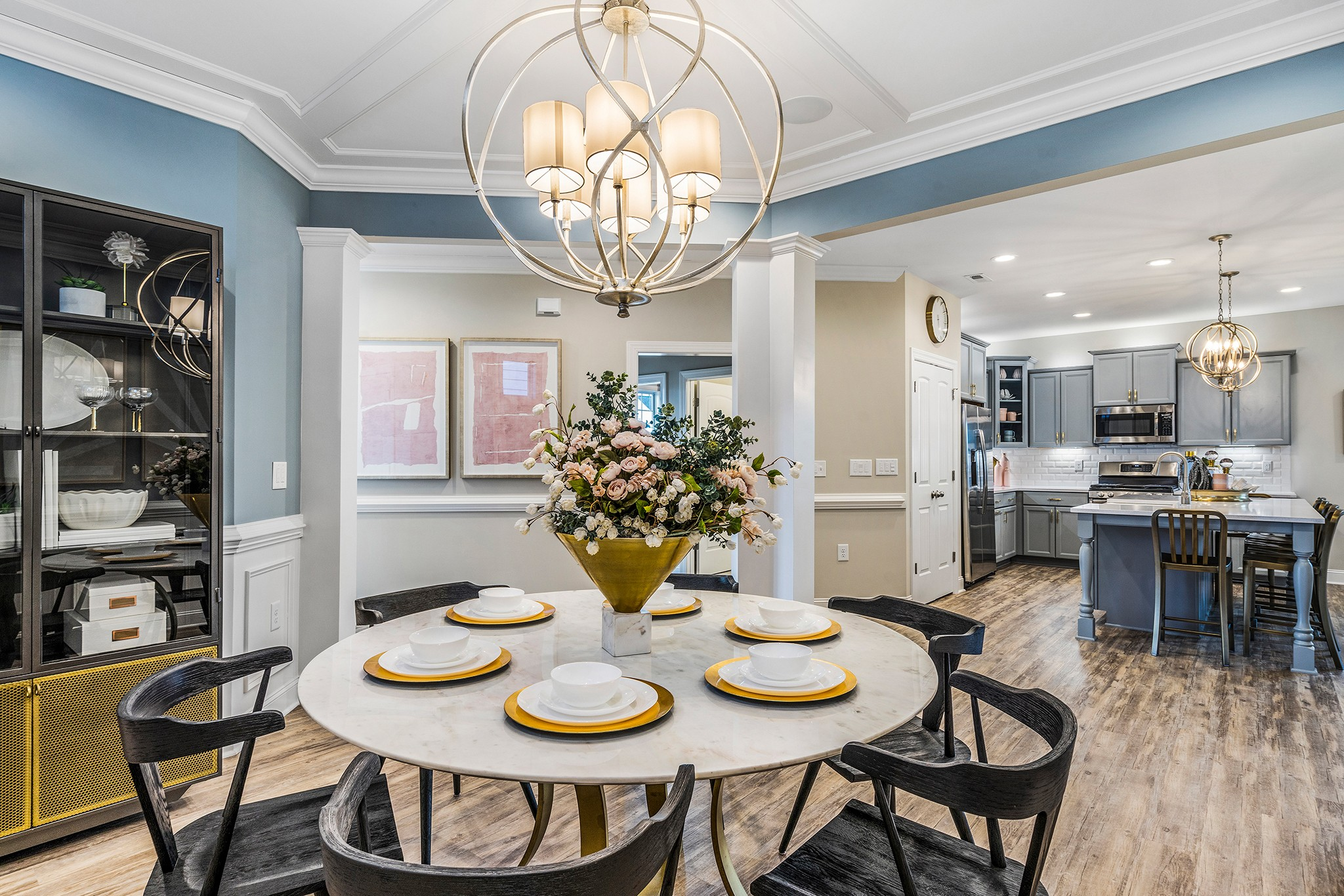 Royal Oaks a Division of Mattamy Homes, Wendell Falls, The Stewart, Dining Room