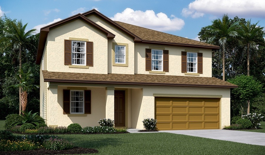 New Home Plans Hemingway By Richmond American Homes New Home Guide