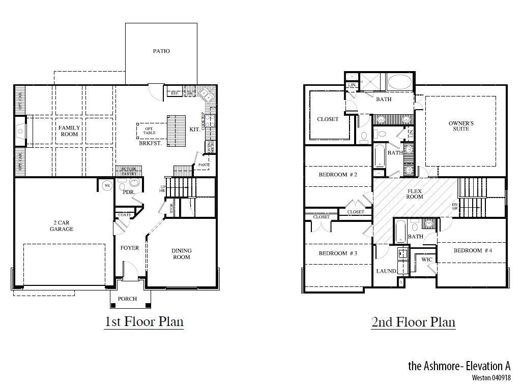 Weston Ashmorea Floorplan