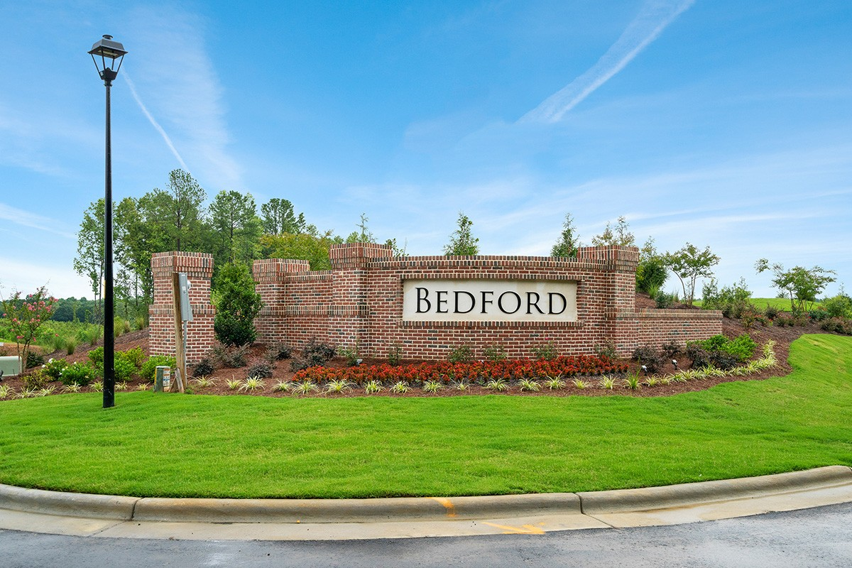 Bedford at Flowers Plantation, Royal Oaks a Divison of Mattamy Homes, Community Entrance