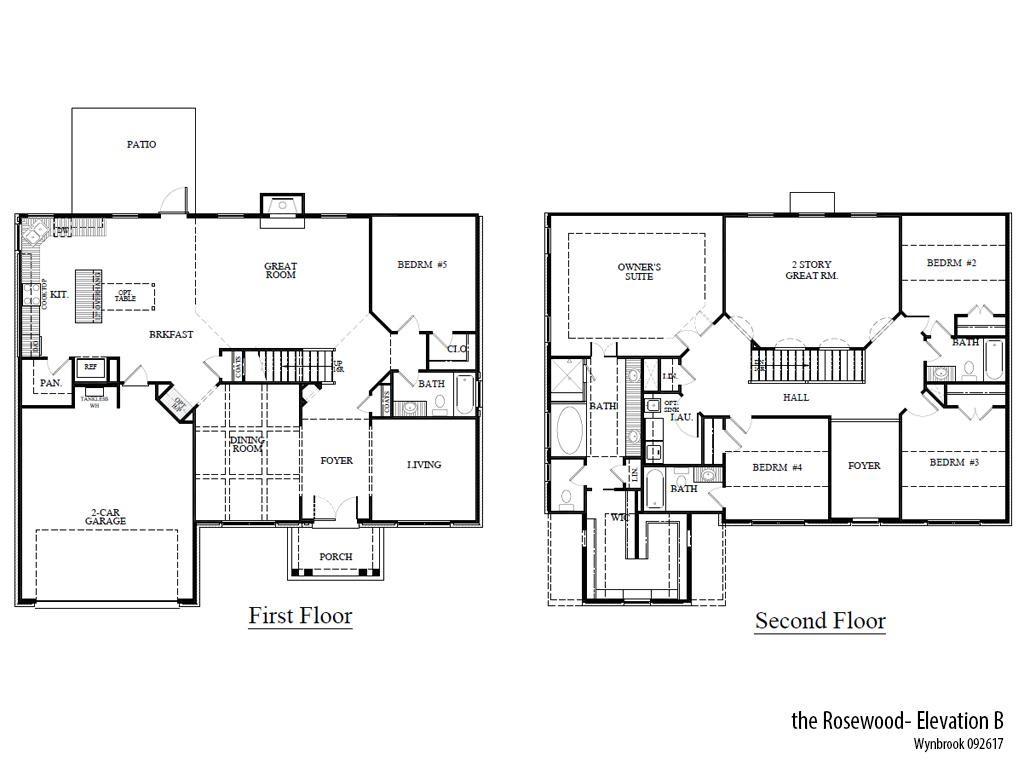 Wyn Roseb Floorplan