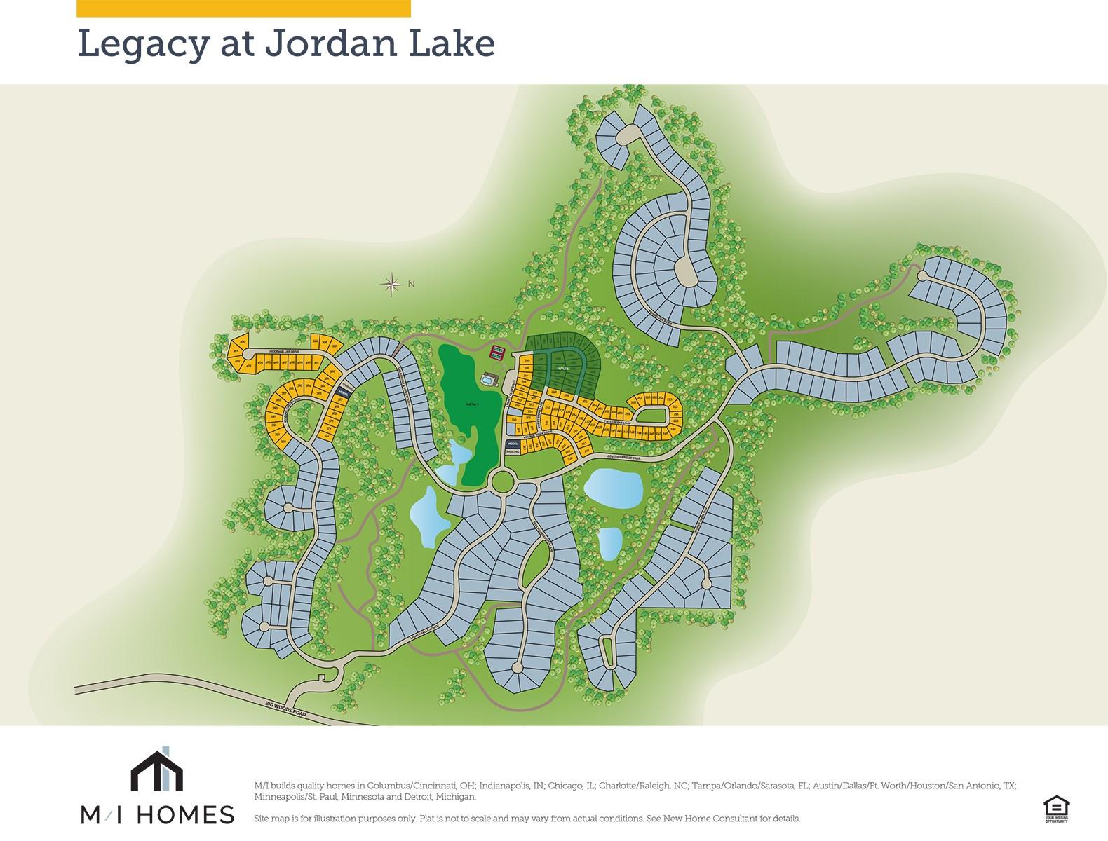 Legacy at Jordan Lake - Legacy Village