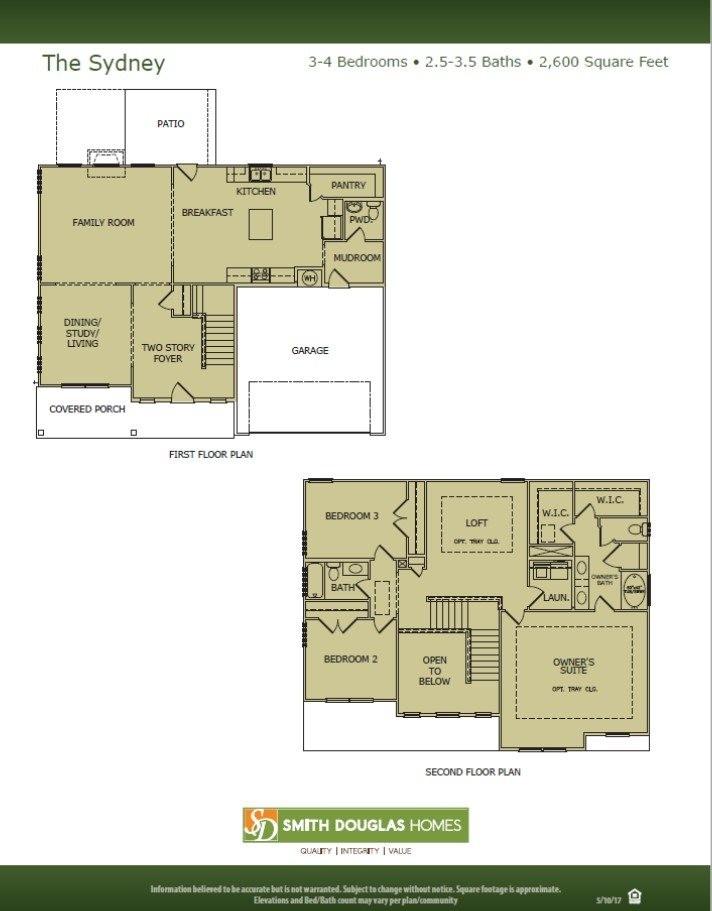 Sydney Floorplan