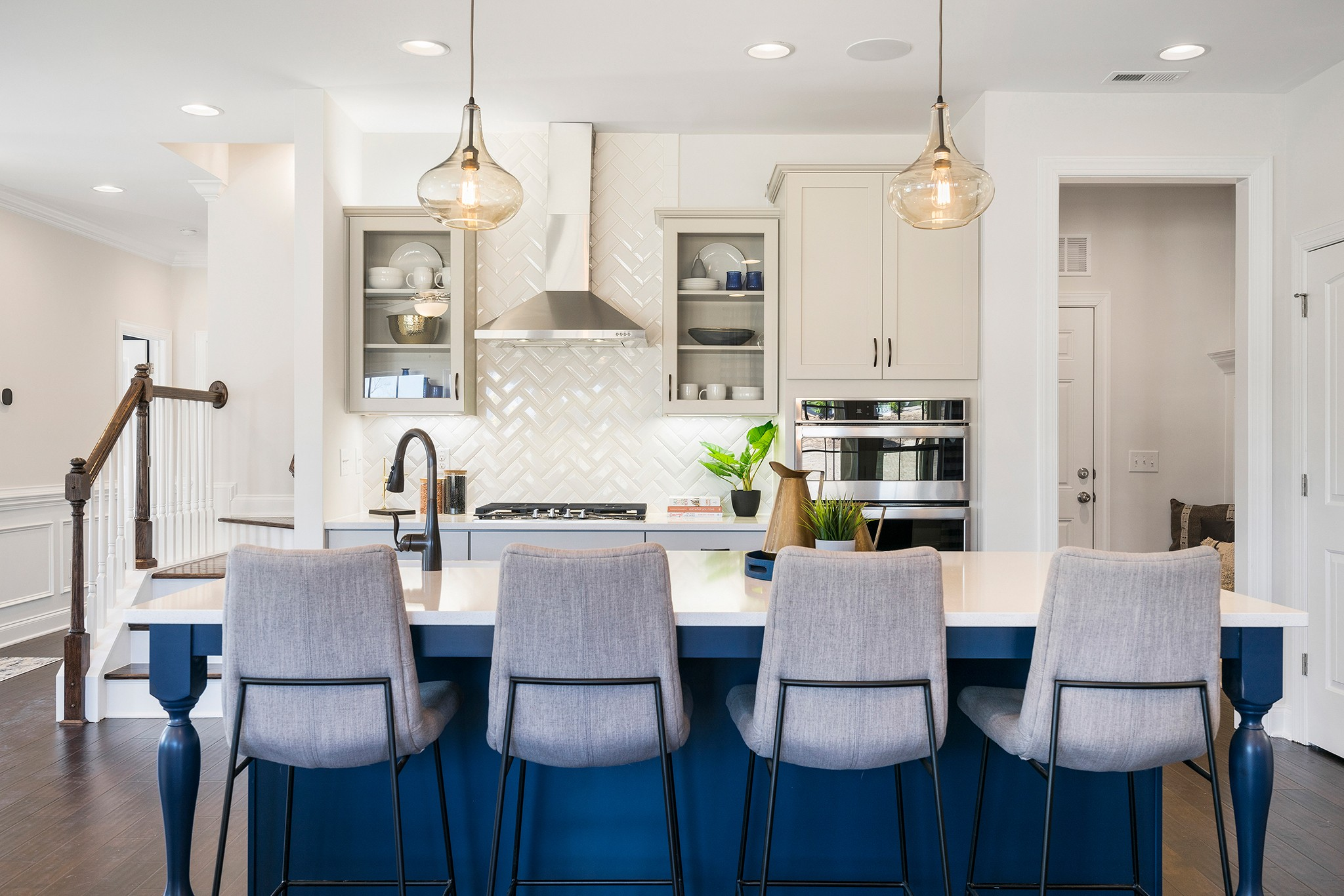 Royal Oaks a Division of Mattamy Homes, Holland Station, Fuquay-Varina, Gorgeous kitchen island, ...