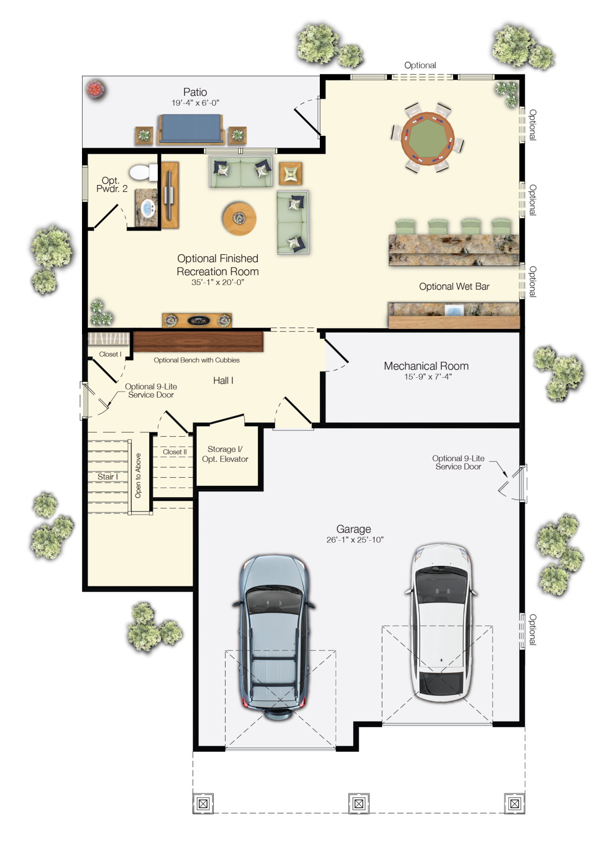 The Antigua - First Floor