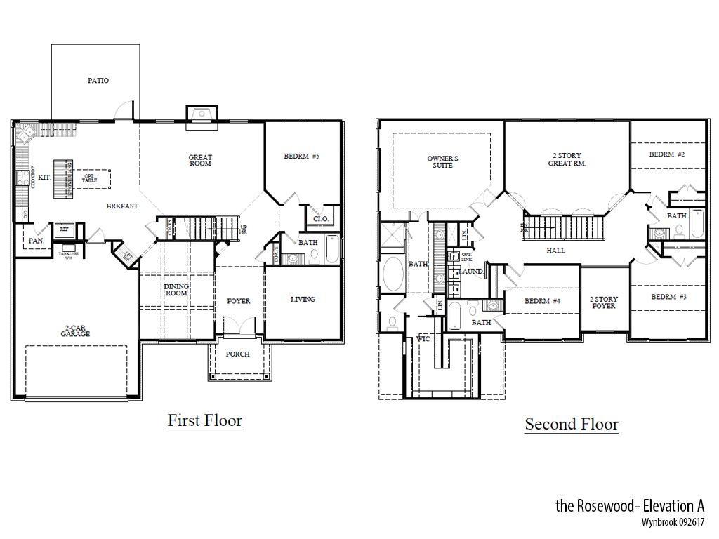 Wyn Rosea Floorplan