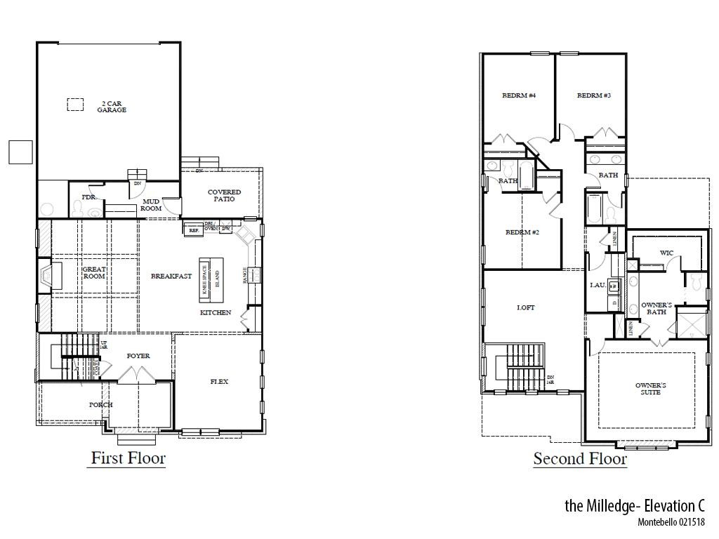 Mb Milledgec Floorplan