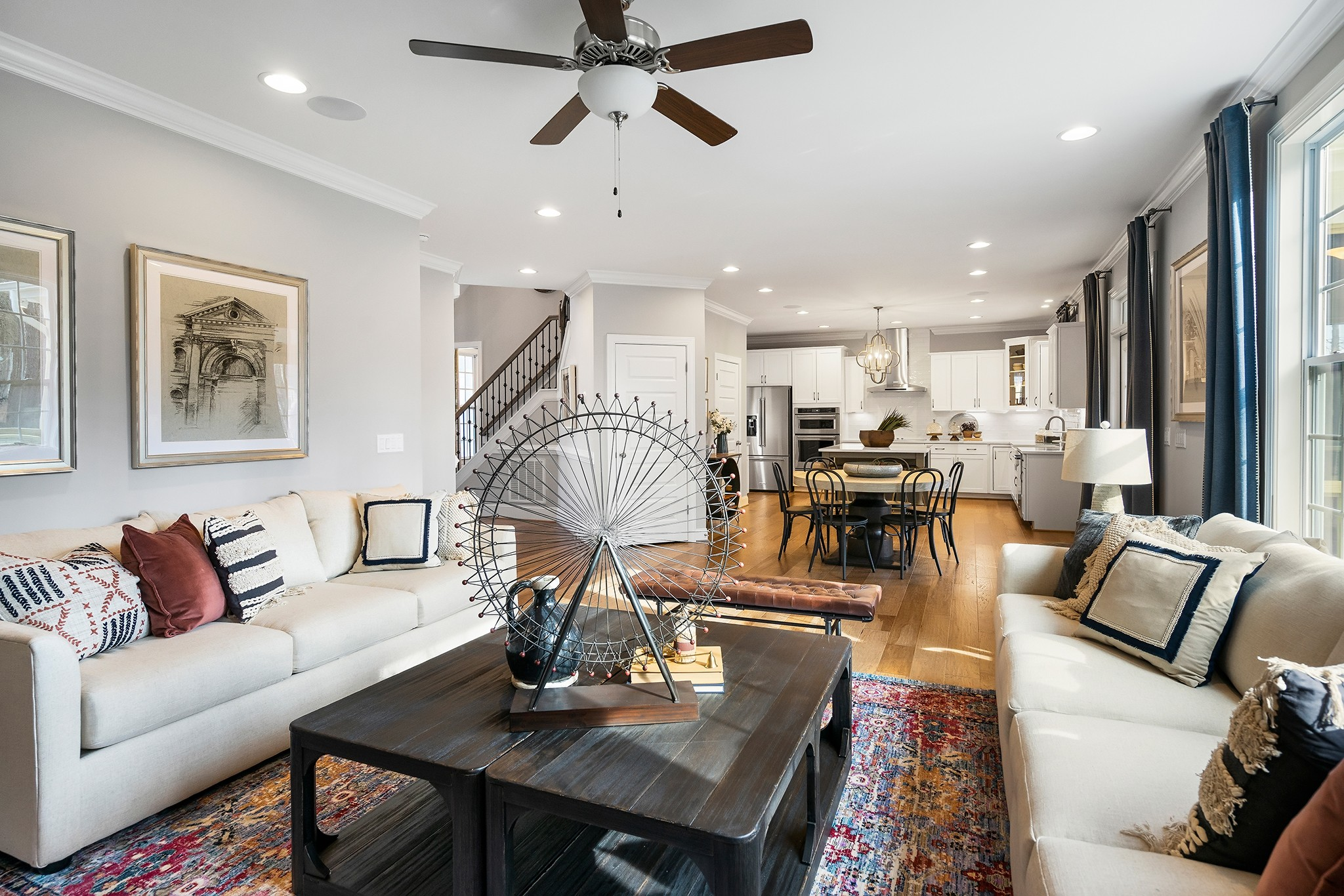 Ballentine Place, The Edenton Model, Royal Oaks a Division of Mattamy Homes, Open Floor Plan