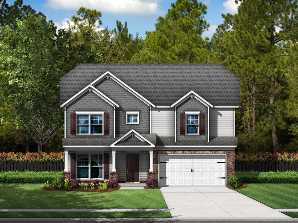 Cooper Elevation E (vinyl with stone accent)