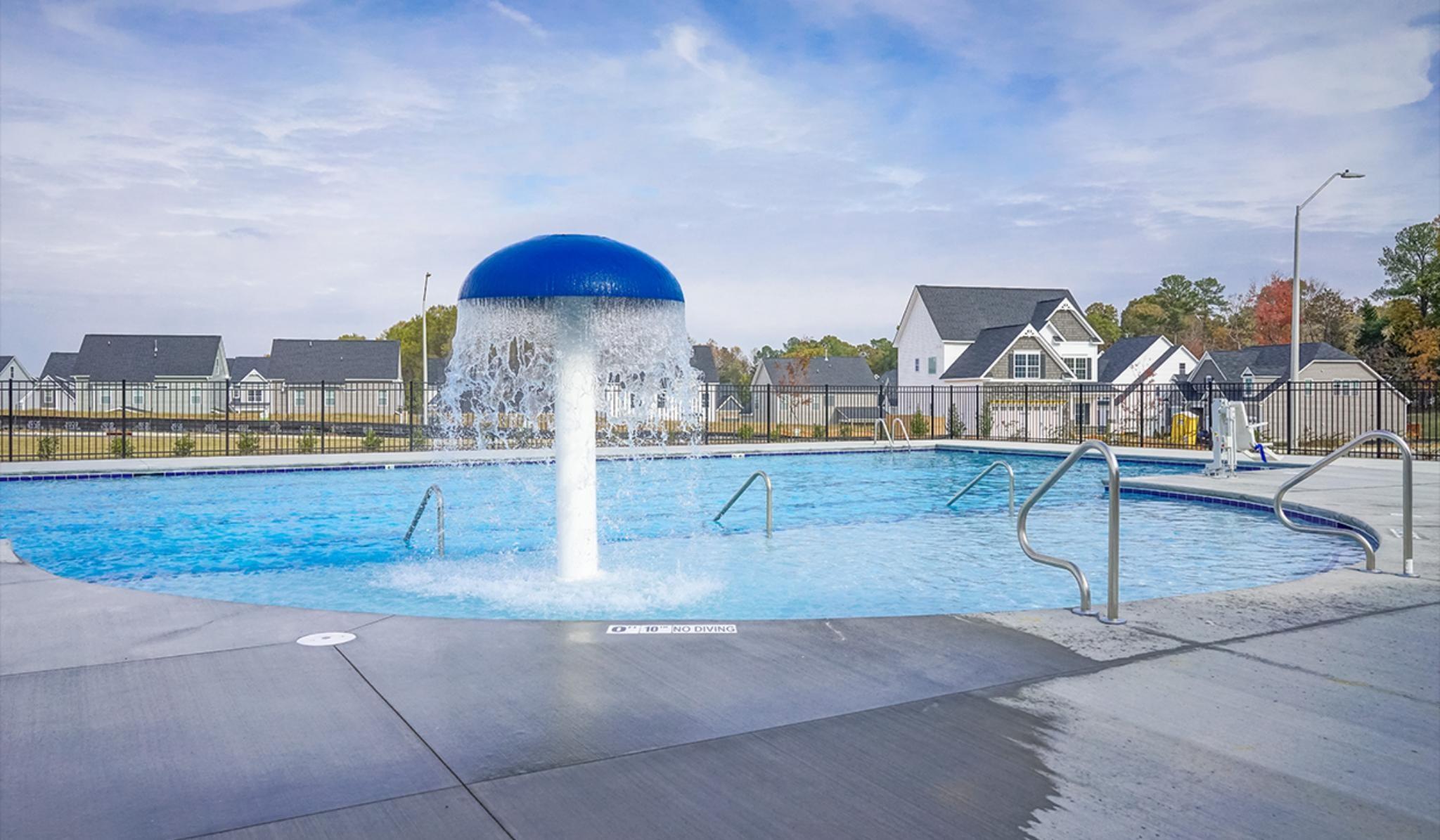 Sonoma Springs Fuquay-Varina community pool