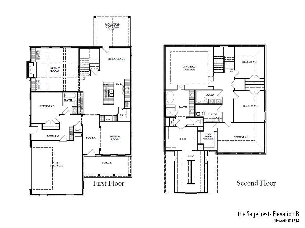Ells Sagecrestb Floorplan