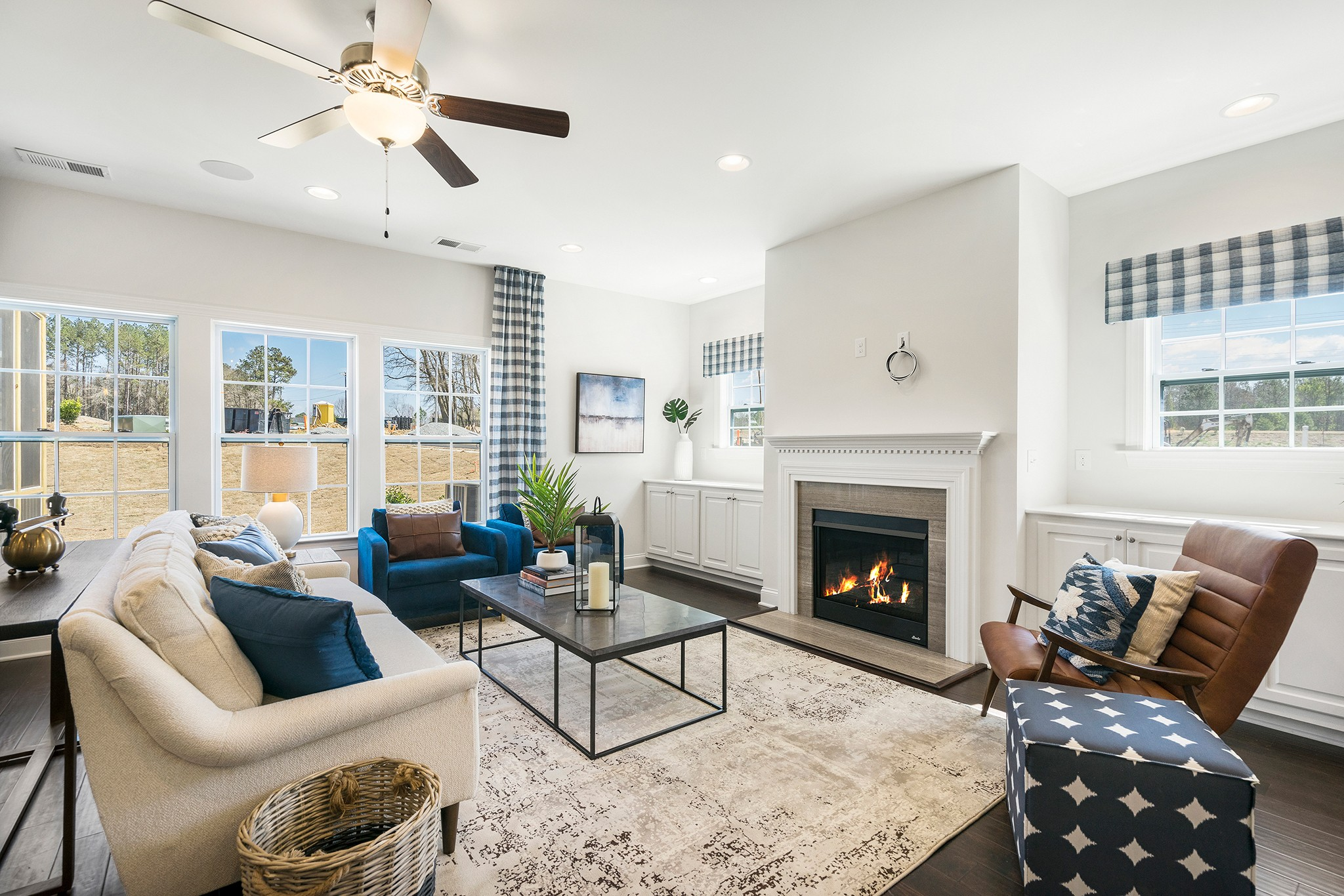 Royal Oaks a Division of Mattamy Homes, Holland Station, Fuquay-Varina, Living Area, Great Room,
