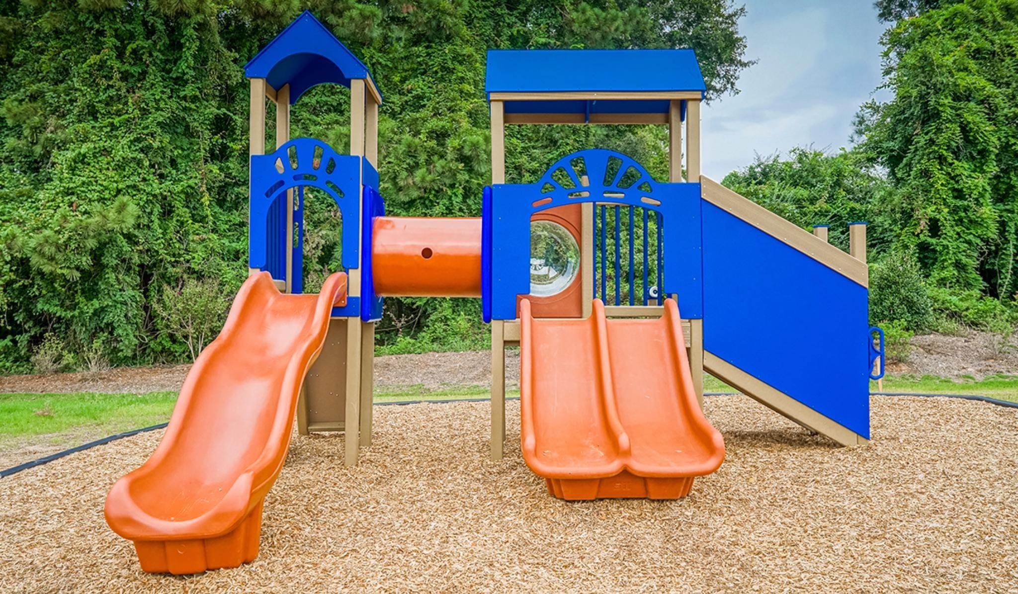 Bristol Community Playground with slides and climb