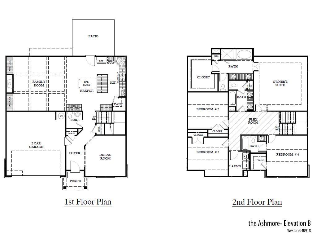 Weston Ashmoreb Floorplan