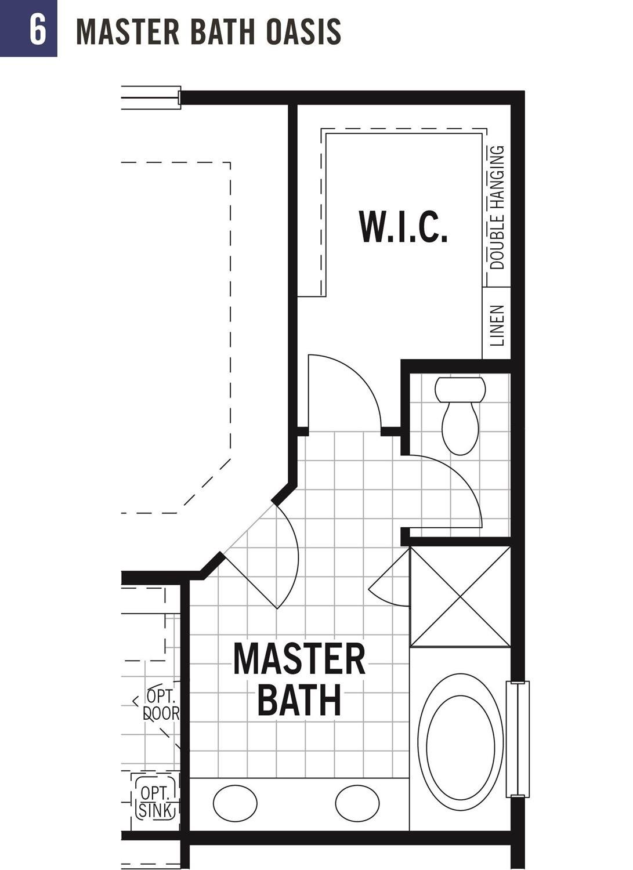 Master bath oasis