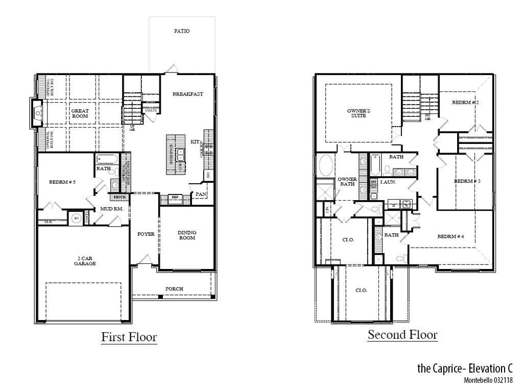 Mb Capricec Floorplan