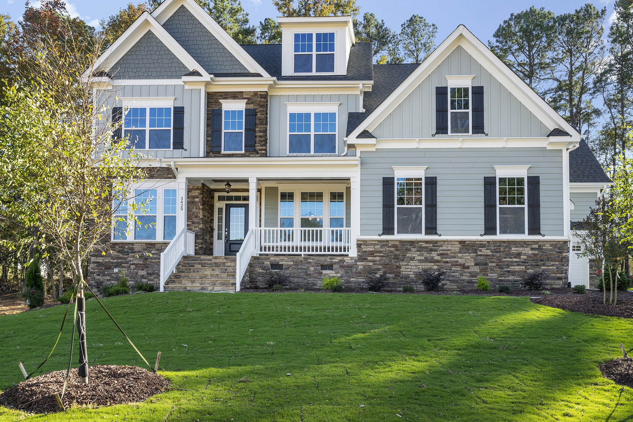 The Somerset Plan in Fairview Park, Cary NC