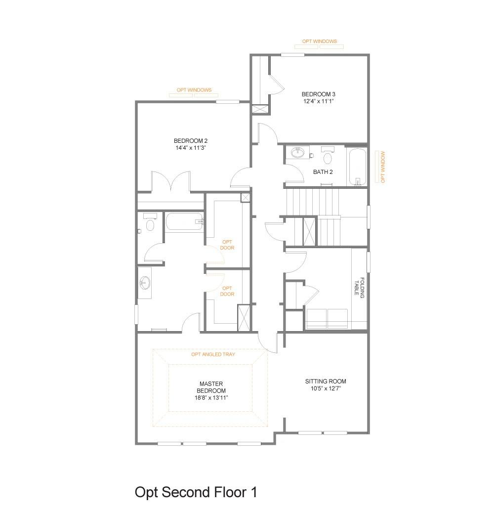 Opt. Second Floor 1