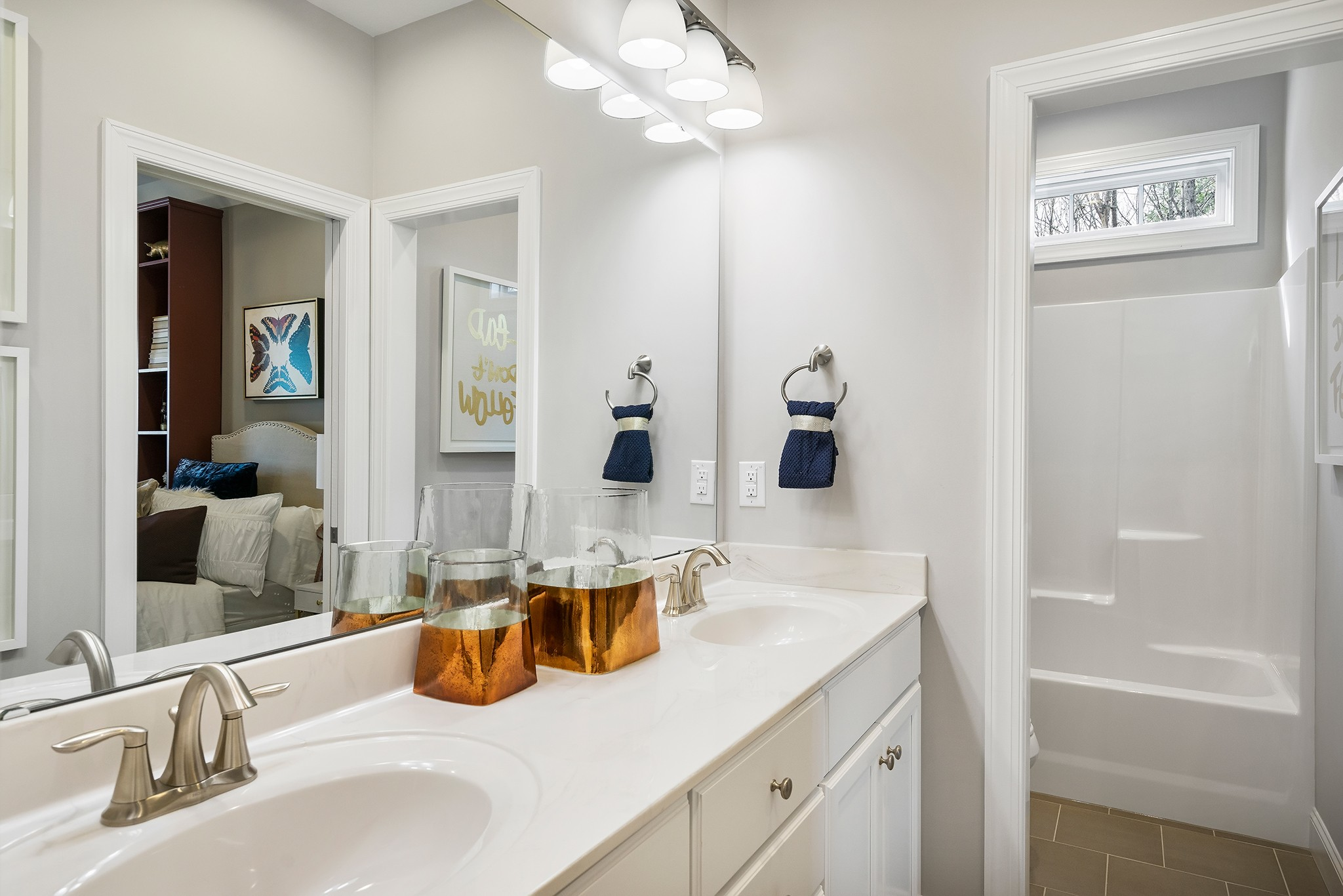 Ballentine Place, The Edenton Model, Royal Oaks a Division of Mattamy Homes, Full Bathroom