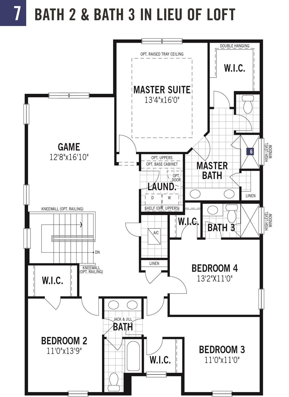 In-Law Suite in lieu of 3rd Car Garage