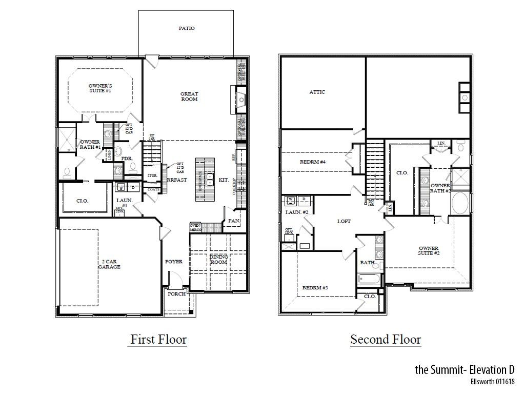 Ellsworth Summitd Floorplan