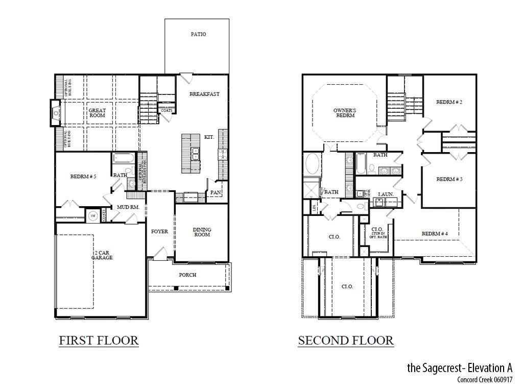 Cc Sagecresta Floorplan