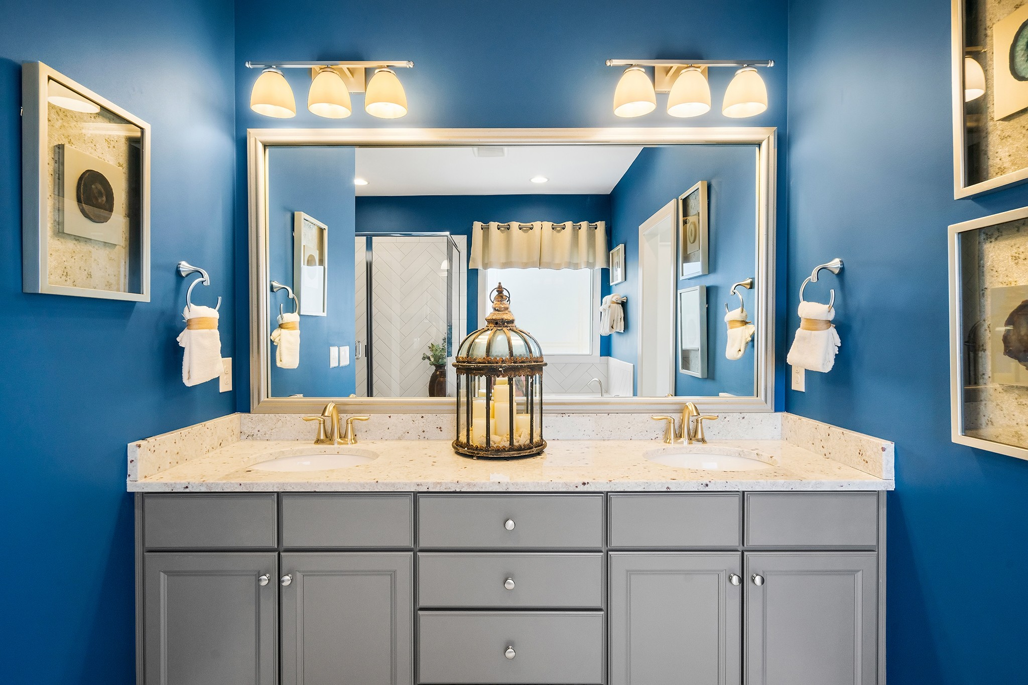 Ballentine Place, The Edenton Model, Royal Oaks a Division of Mattamy Homes, Master Bathroom