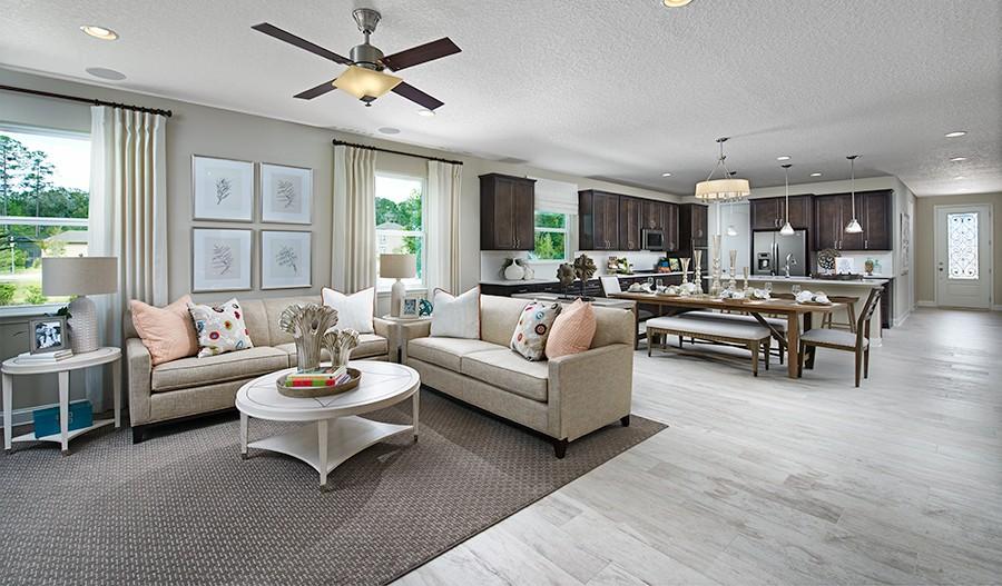 Raleigh-JAX-Great room (Lakes at Mill Creek)