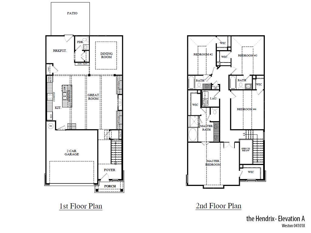 Weston Hendrixa Floorplan