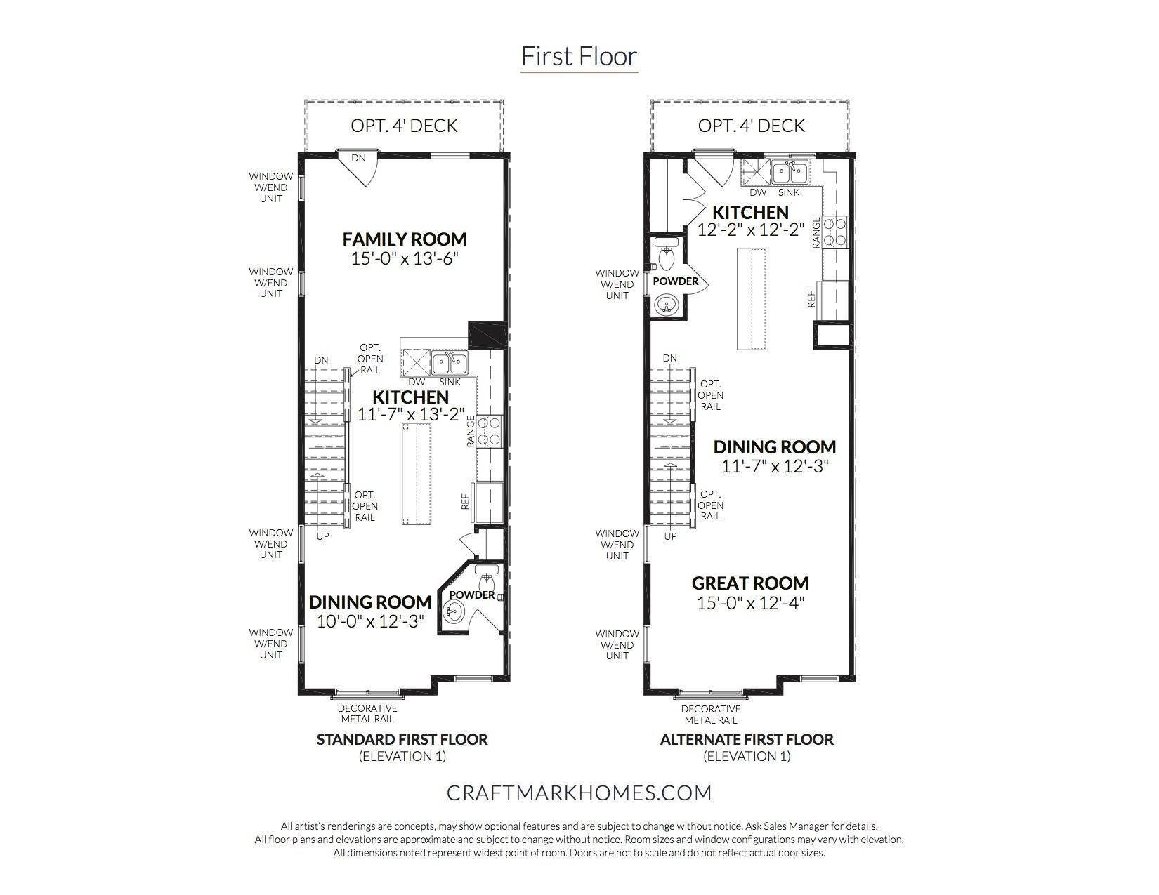 First Floor - The Westfield by Craftmark