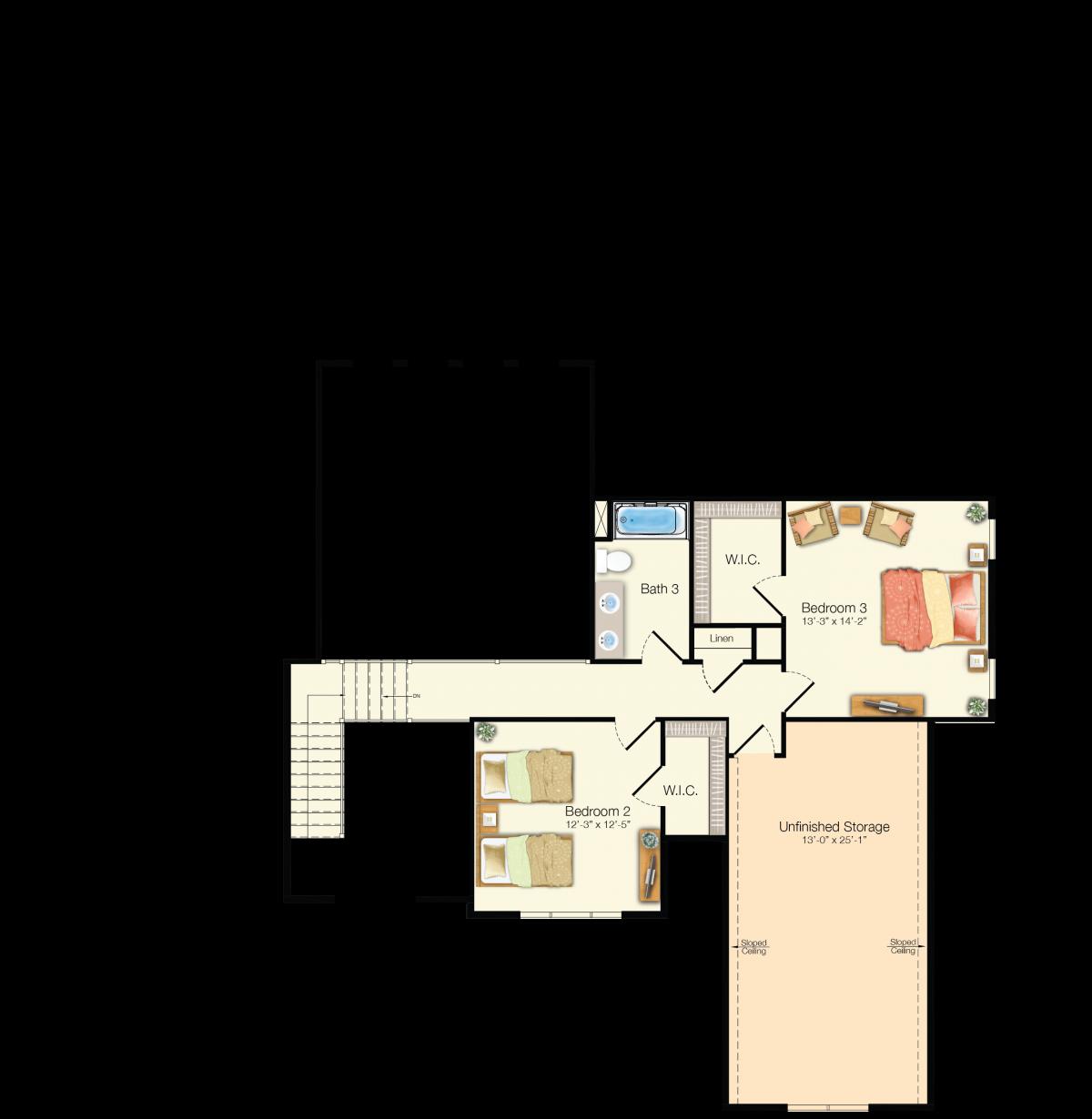 The Henlopen - Second Floor