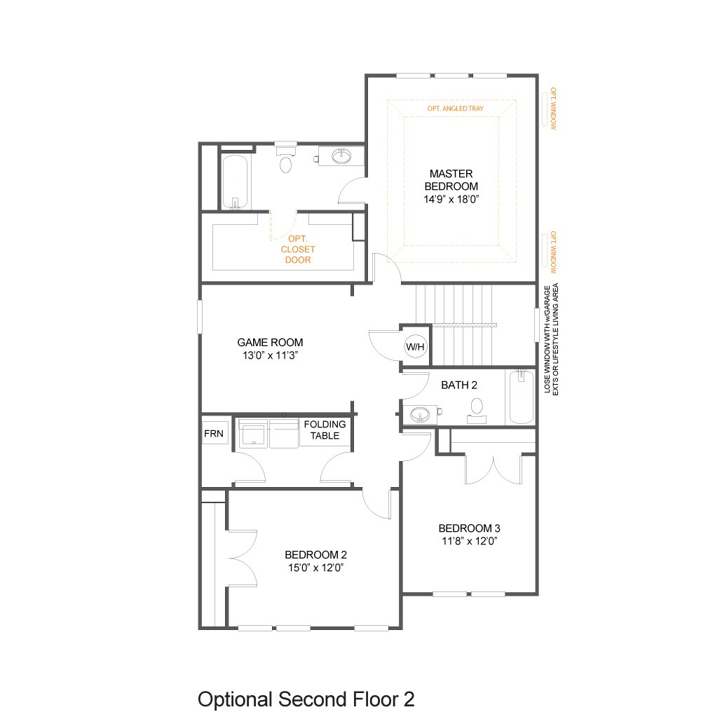 Optional Second Floor 2