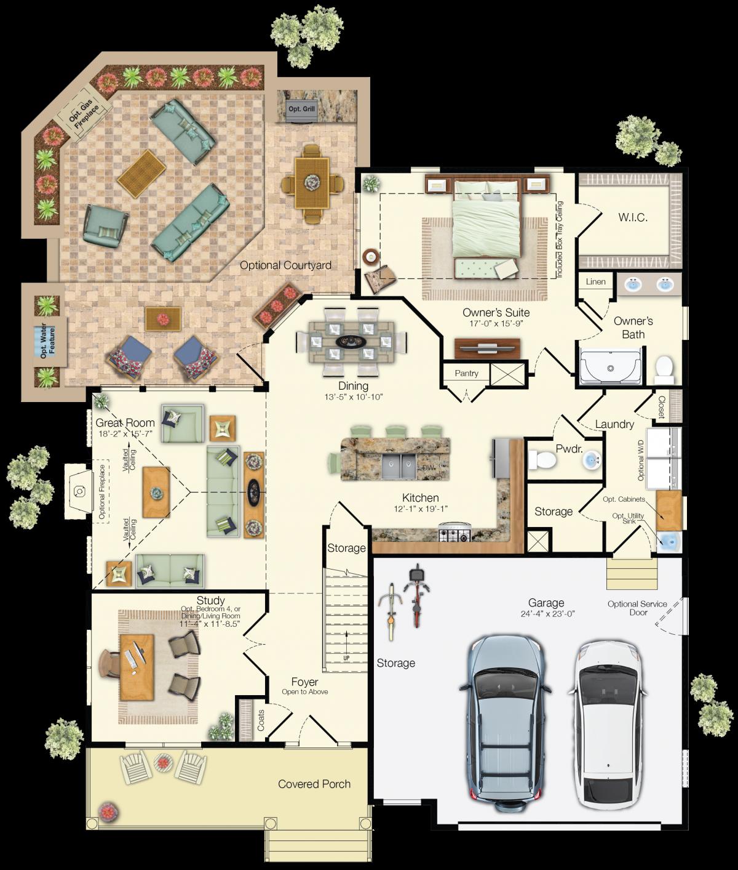 The Heron - First Floor