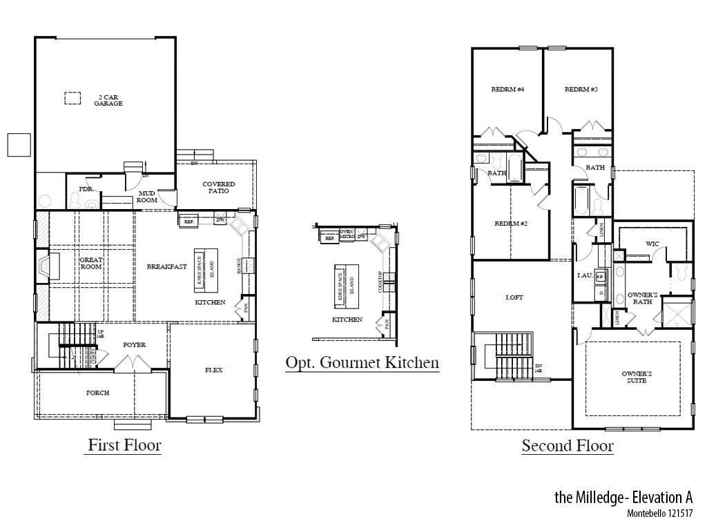 Mb Milledgea Floorplan