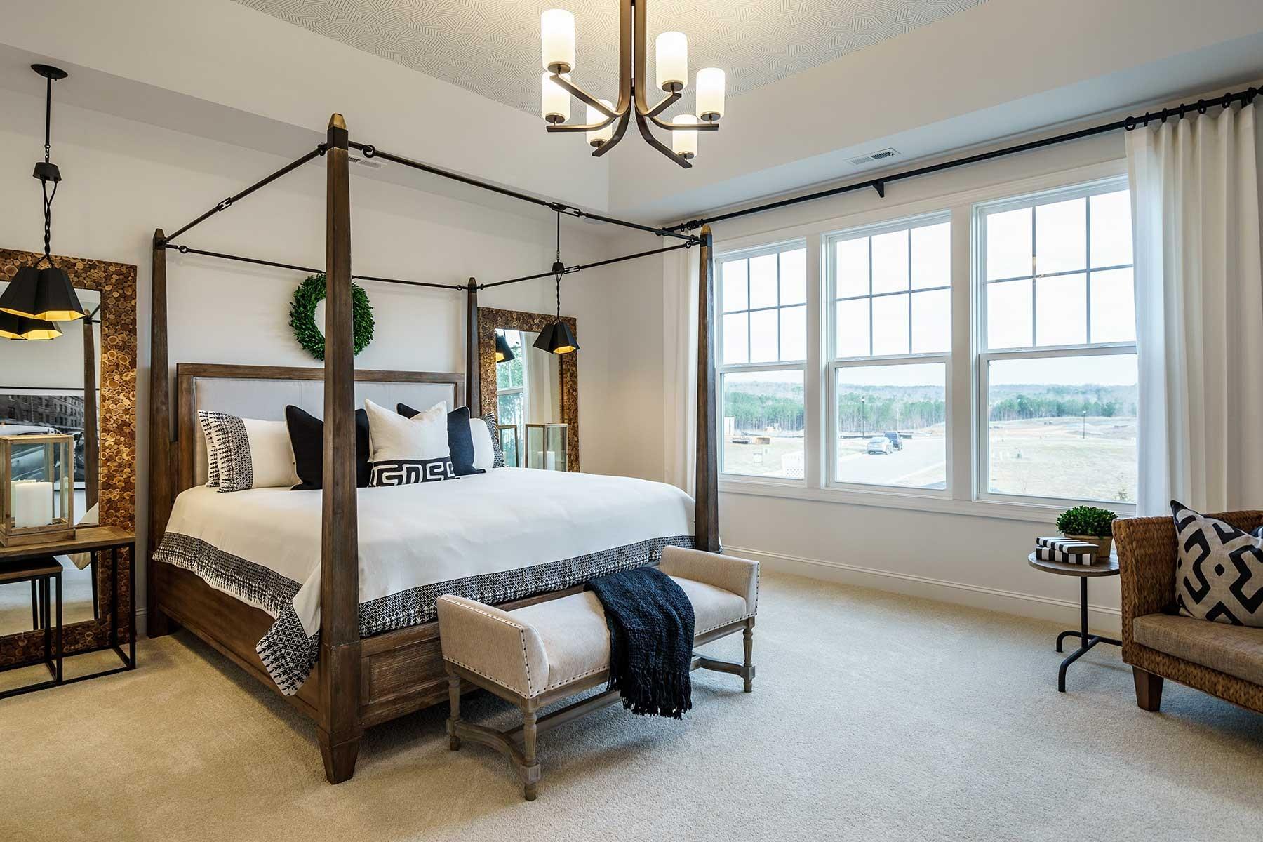 Legacy at Jordan Lake - Legacy Village- Bedroom