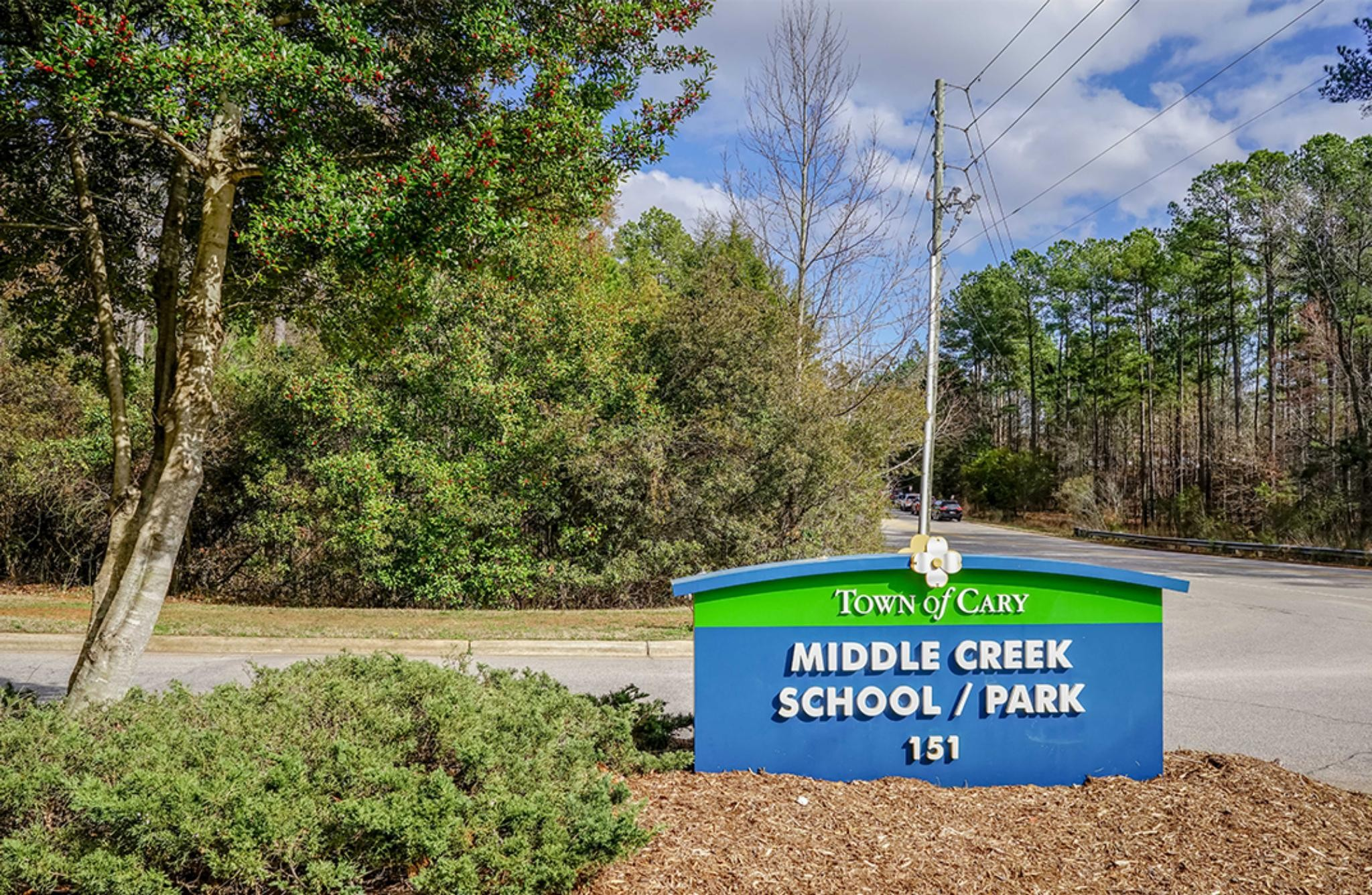 Middle Creek School and Park in Cary, NC