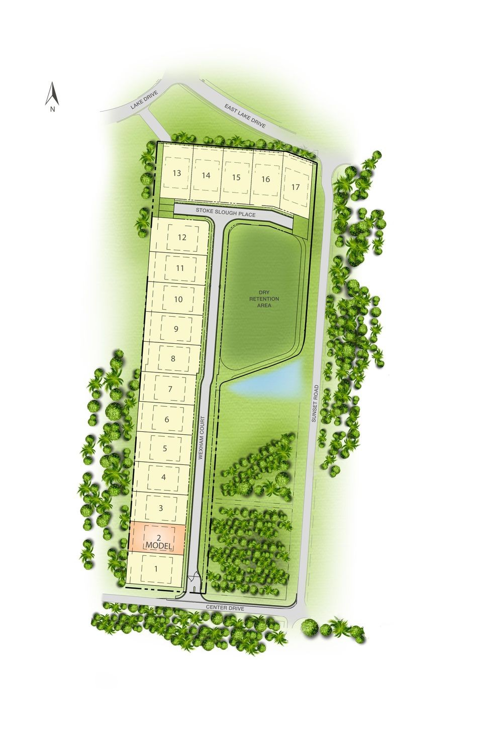 Wexham Court Site Map