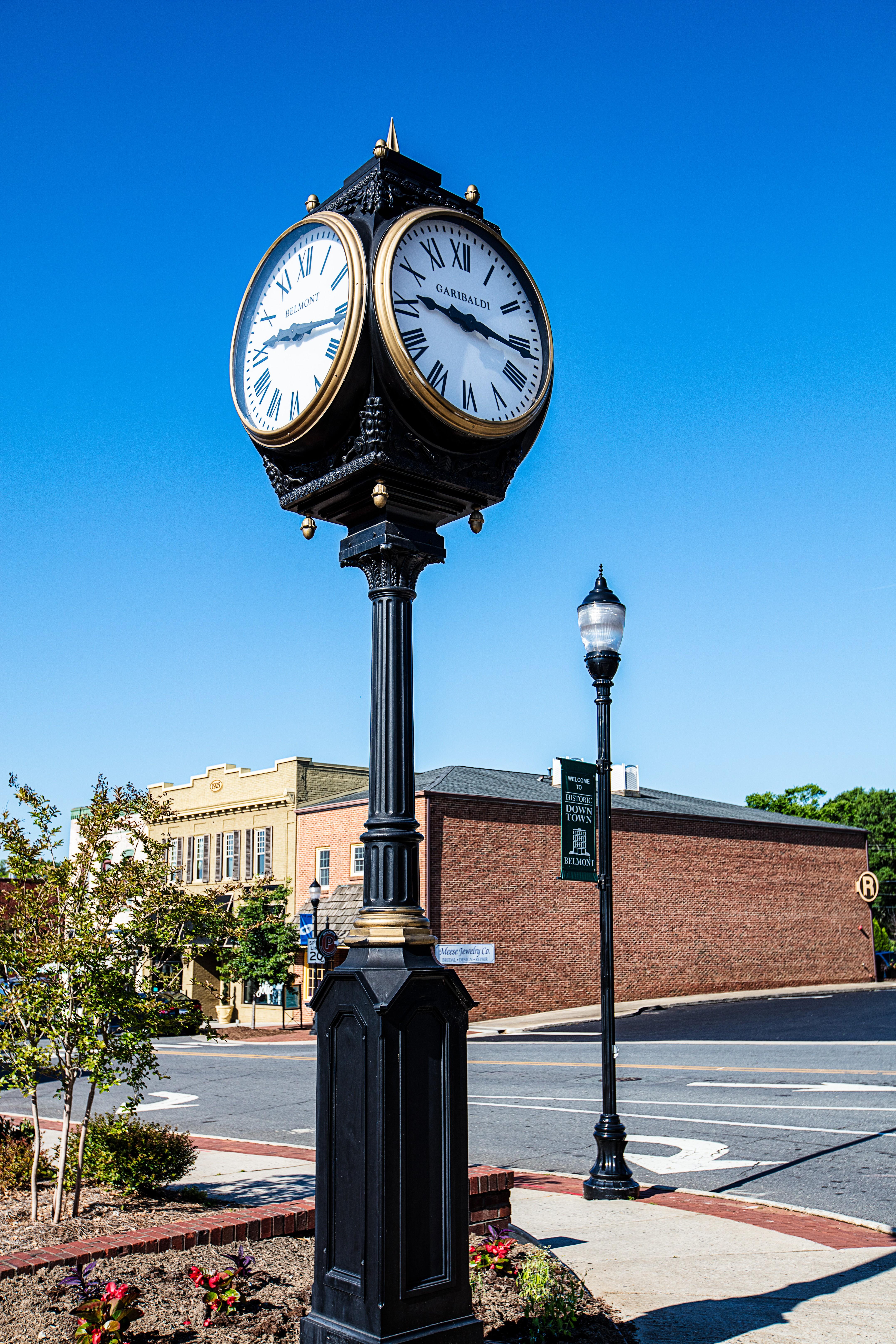 Downtown Belmont Clock.jpg