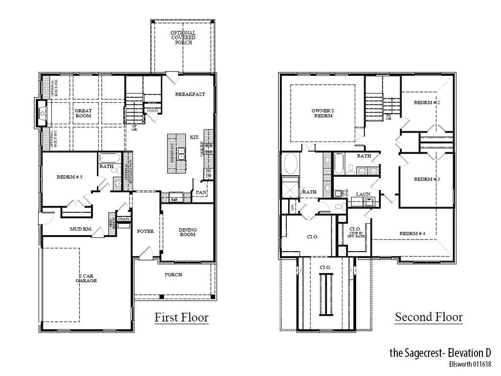 Ells Sagecrestd Floorplan