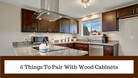 6 Things You Should Pair With Wood Cabinets