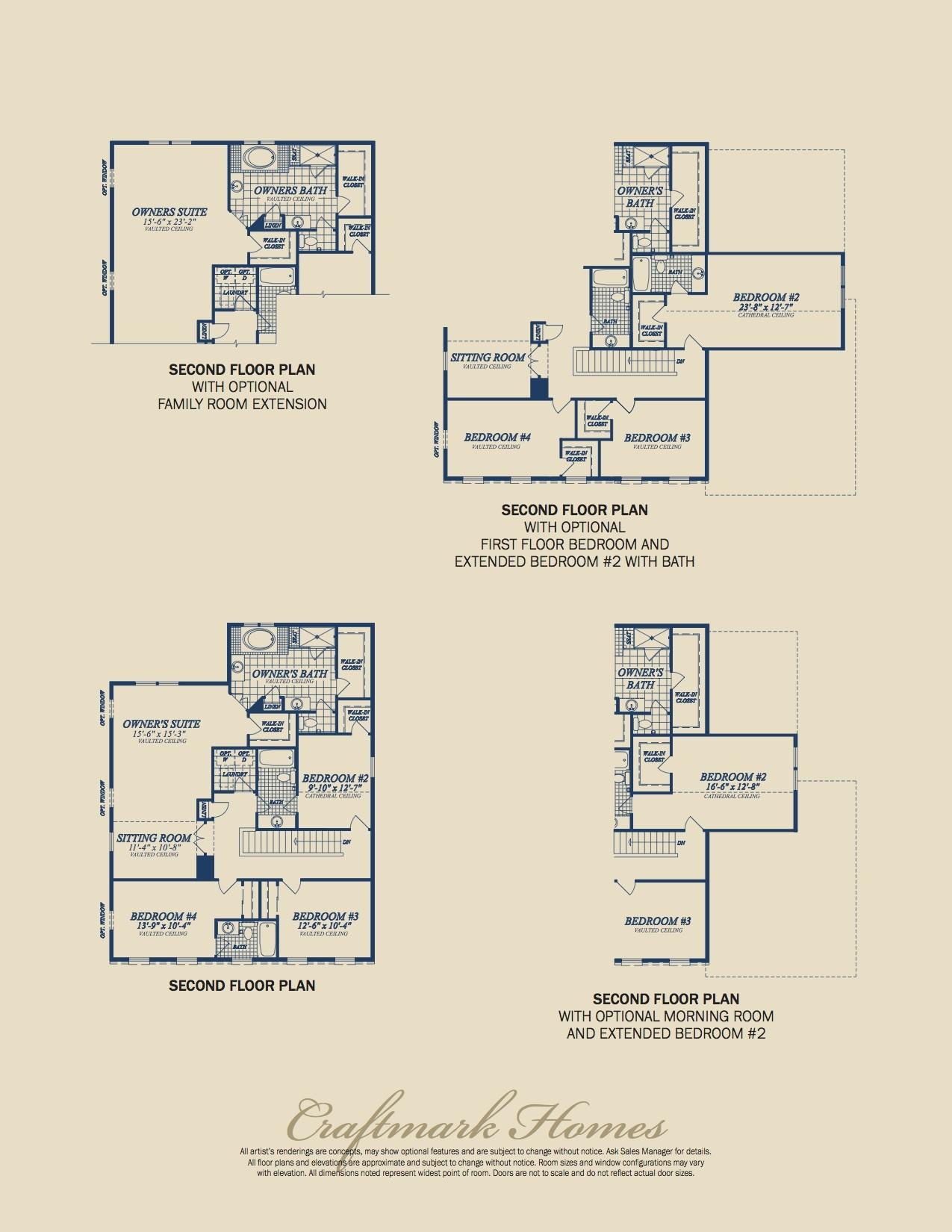 The Hamilton Brochure Page 5 - Floorplans