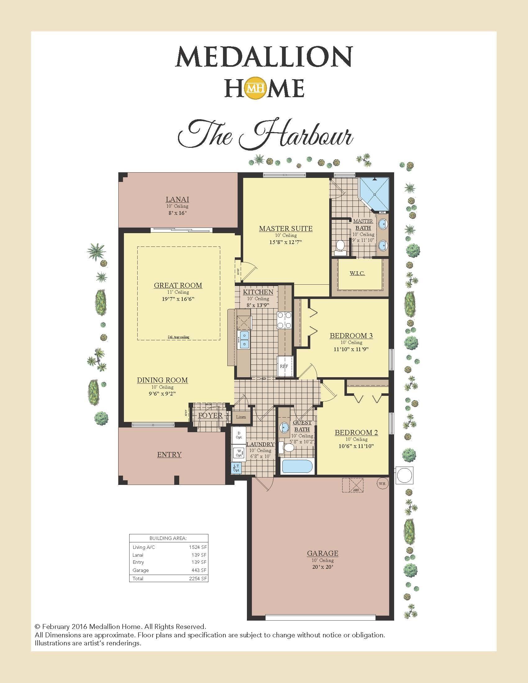 Harbour Floor Plan