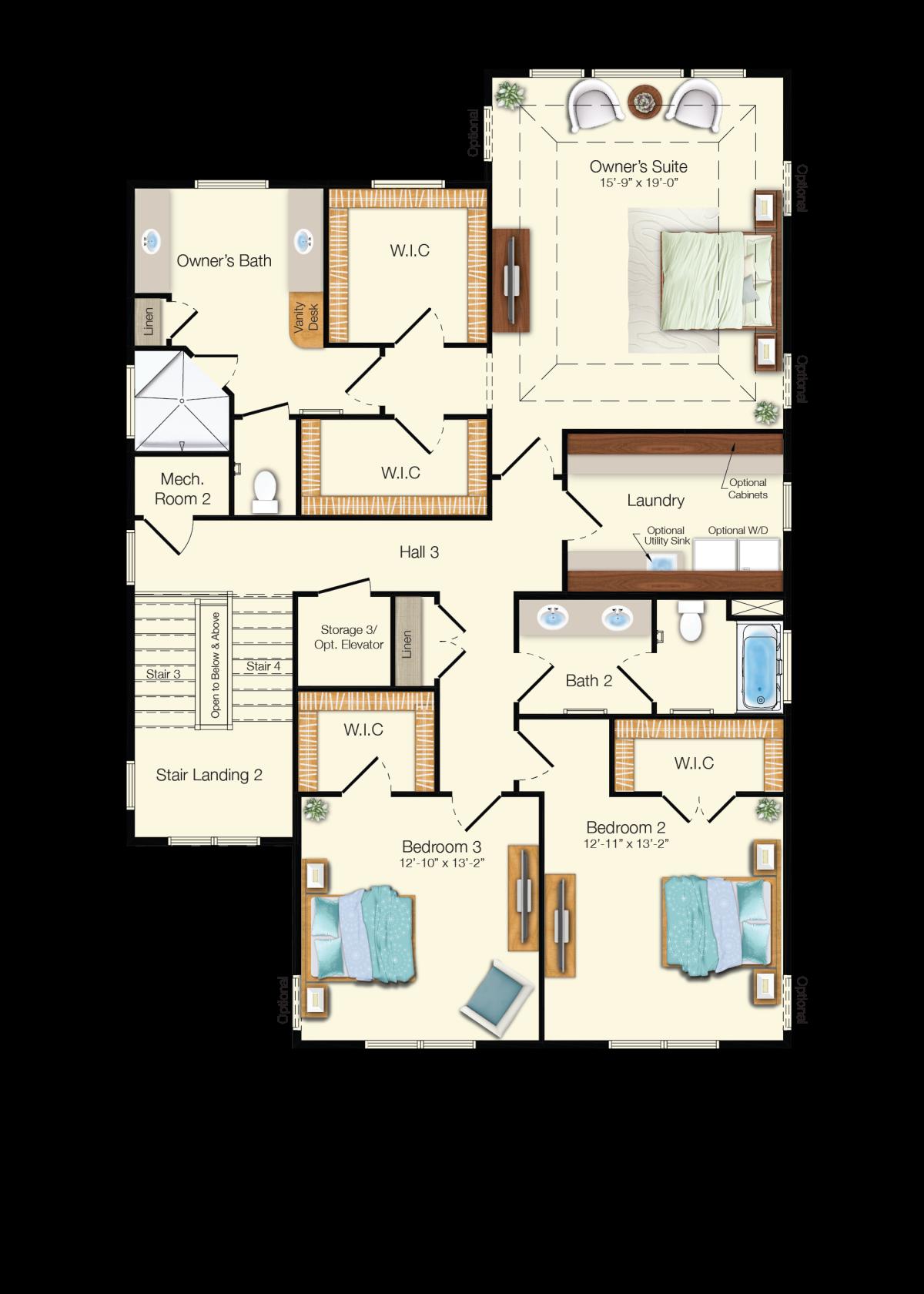 The Antigua - Third Floor