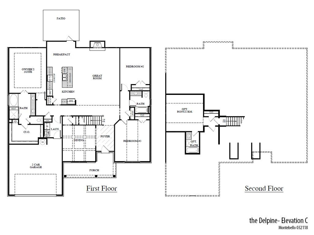 Mb Delpinec Floorplan