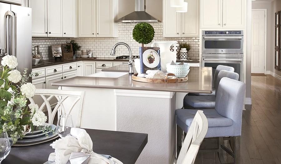 Arlington-DEN-Dining room/kitchen (Cobblestone)