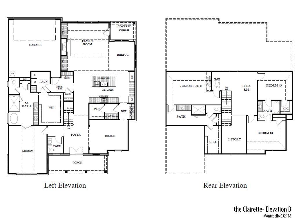 Mb Clairetteb Floorplan