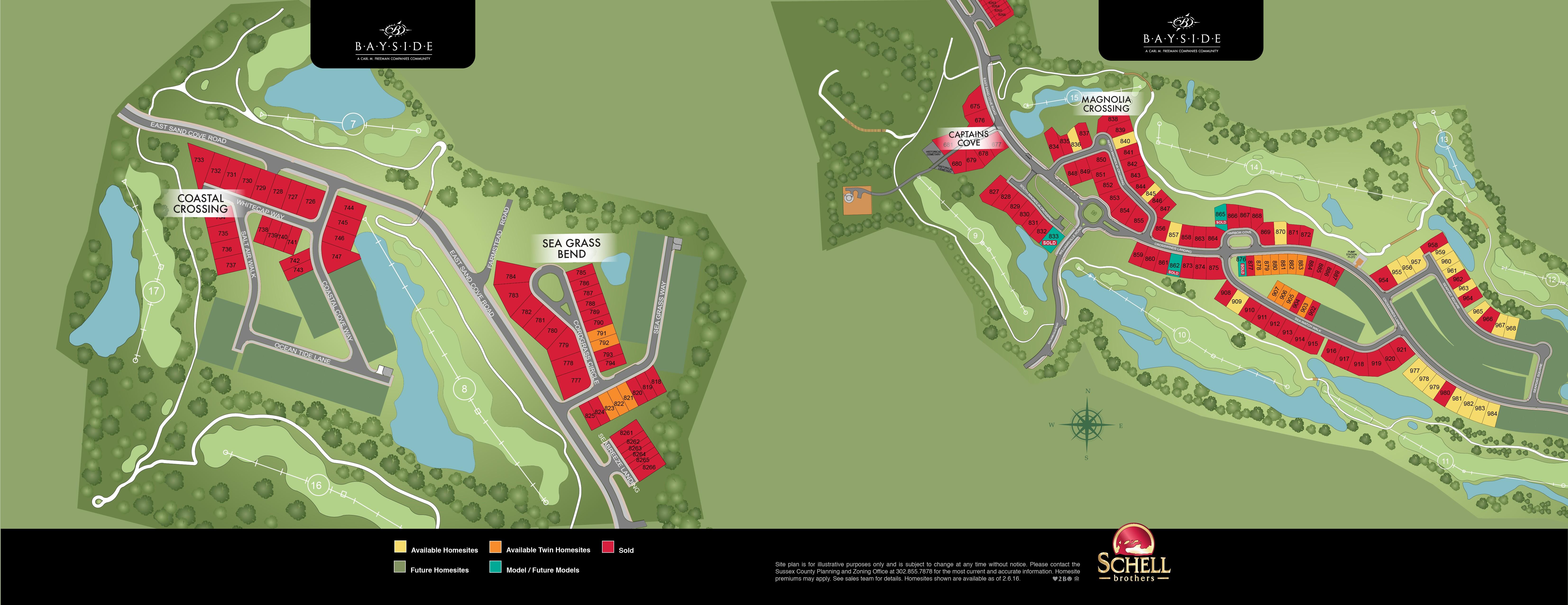 Bayside Community Map