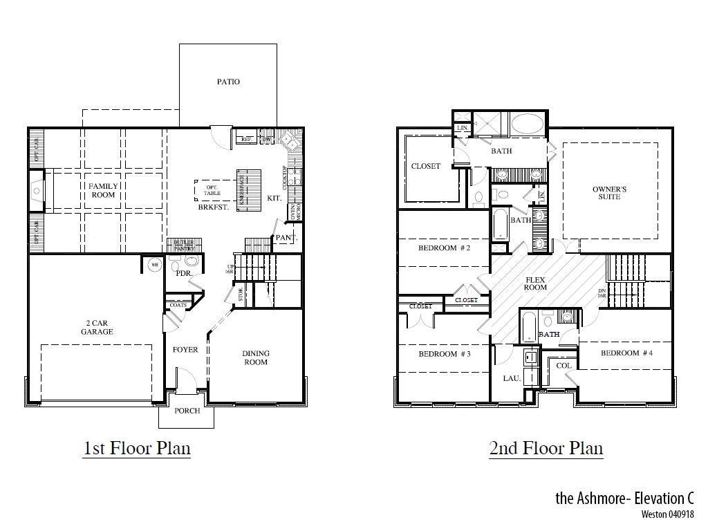 Weston Ashmorec Floorplan